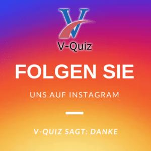 V-Quiz ist auch auf Instagram zu finden - folgen Sie der App mit welcher Sie IDD und gutberaten.de Weiterbildungsstunden erhalten können